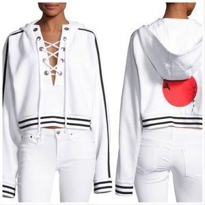 PUMA Fenty by Rihanna lace front sweatshirt, M.